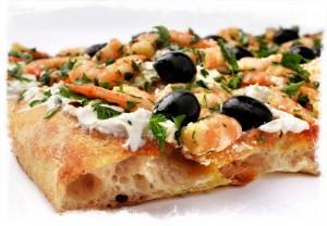 PIZZA CREVETTES RICOTTA