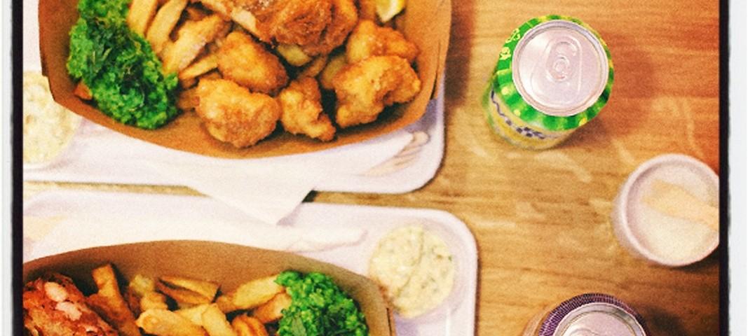 The sunken chip restaurant de fish and chips paris - Restaurant rue des vinaigriers ...