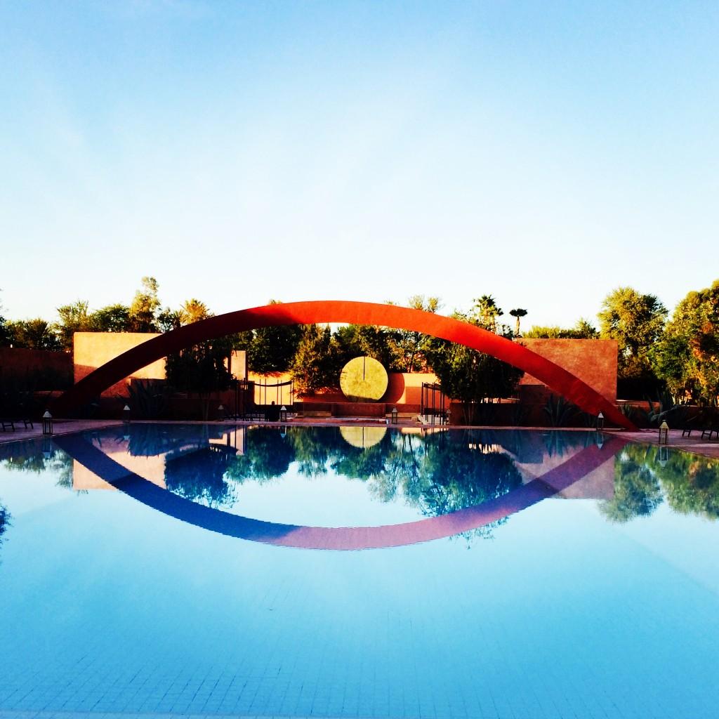 La piscine du riad Dar Sabra