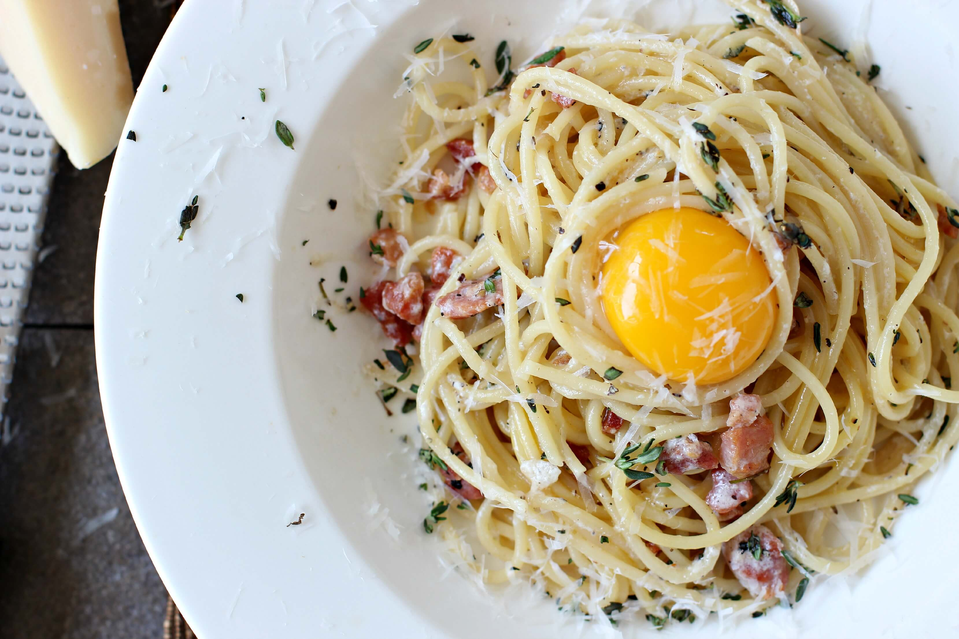 how to make tuna carbonara sauce